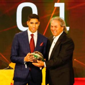 阿什拉夫当选2019年非洲最佳年轻球员