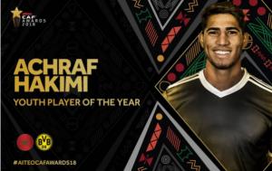 阿什拉夫当选2018年非洲最佳年轻球员