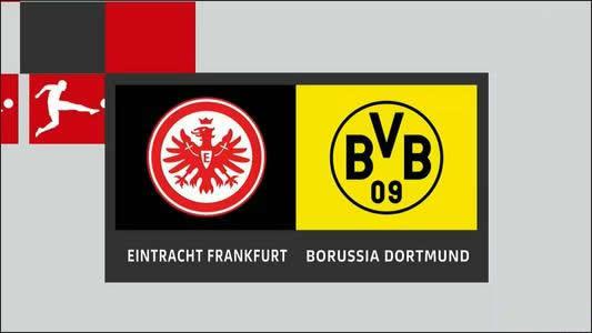 2019-2020赛季德甲联赛第五轮法兰克福2:2多特蒙德