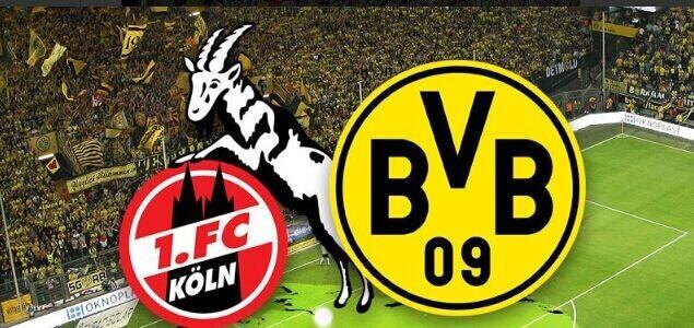 2019-2020赛季德甲联赛第二轮科隆1:3多特蒙德