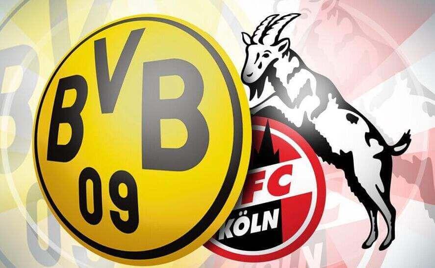 2019-2020赛季德甲联赛第十九轮多特蒙德vs科隆